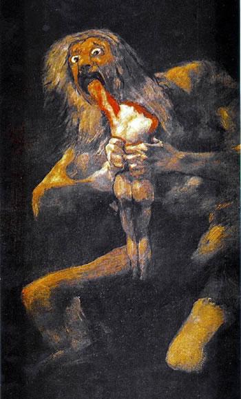 Francisco de Goya: Saturn