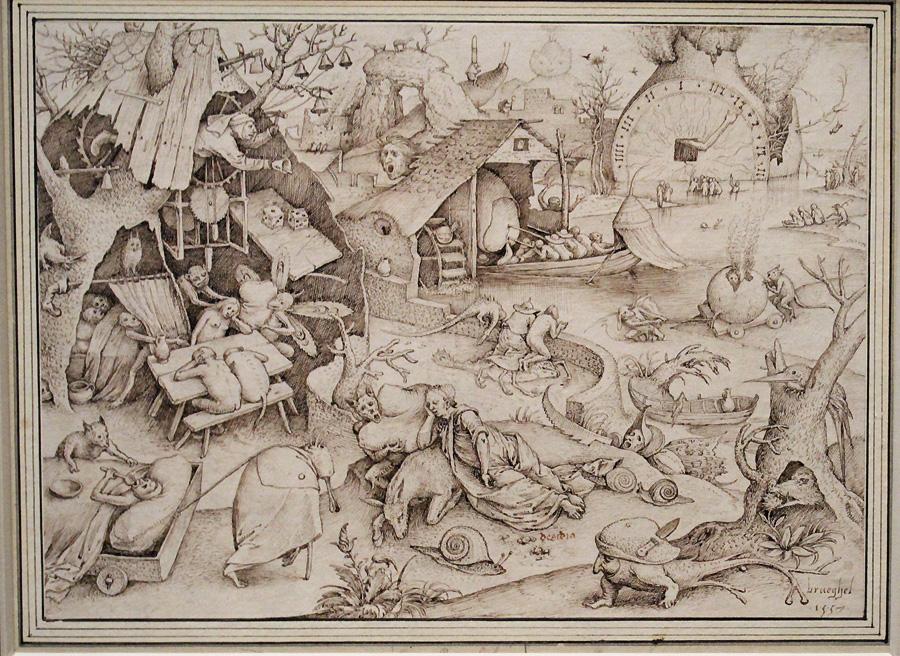 Pieter Bruegel: Desidia
